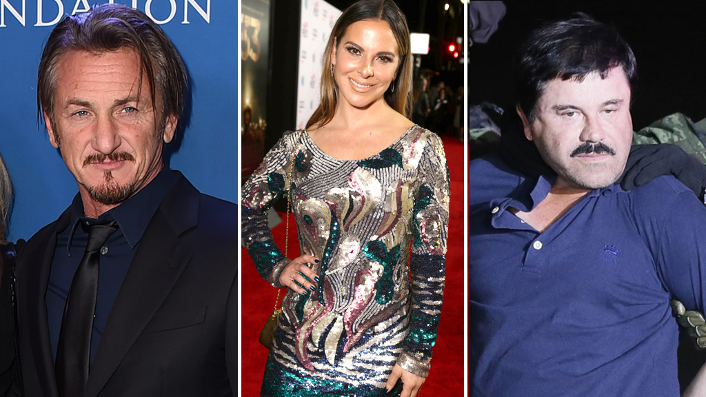 Actors Sean Penn and Kate del Castillo reportedly under investigation over 'El Chapo' interview