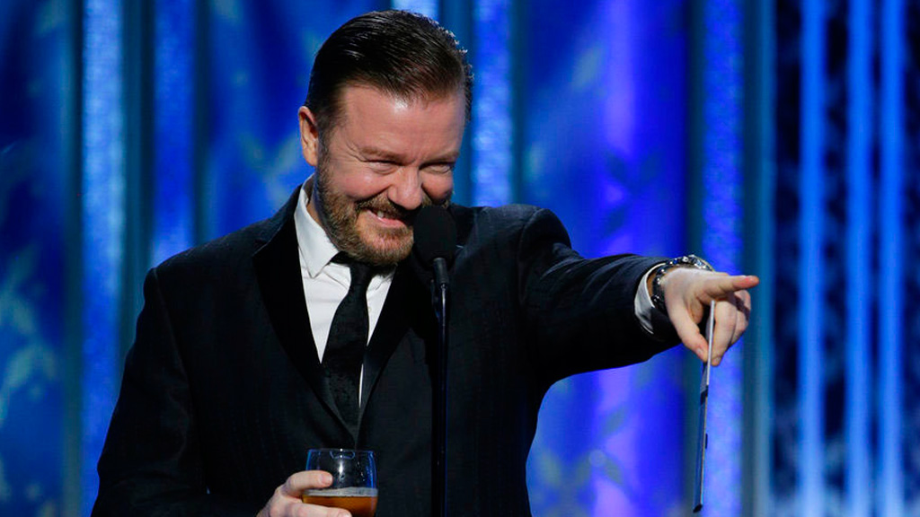 Ricky Gervais kicks off Golden Globes campaign with provocative tweet