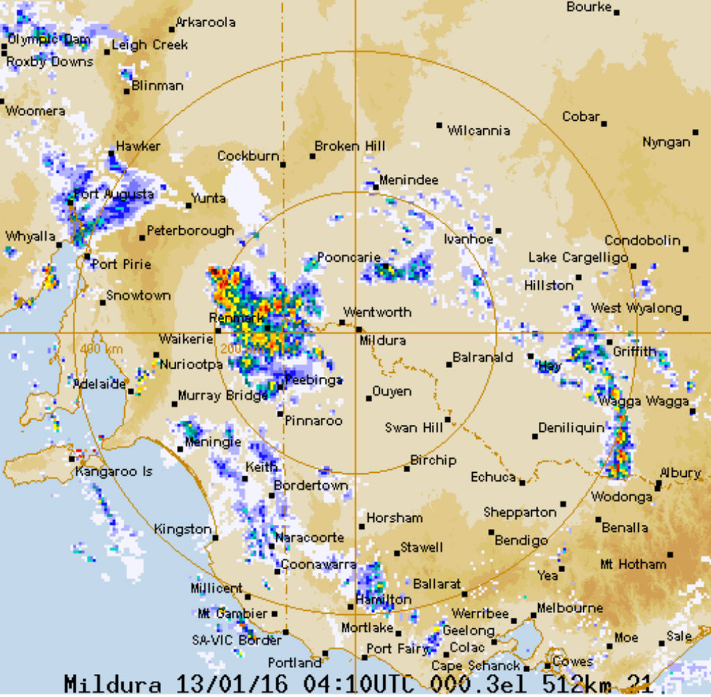 Severe thunderstorms set to batter South Australia and western Victoria