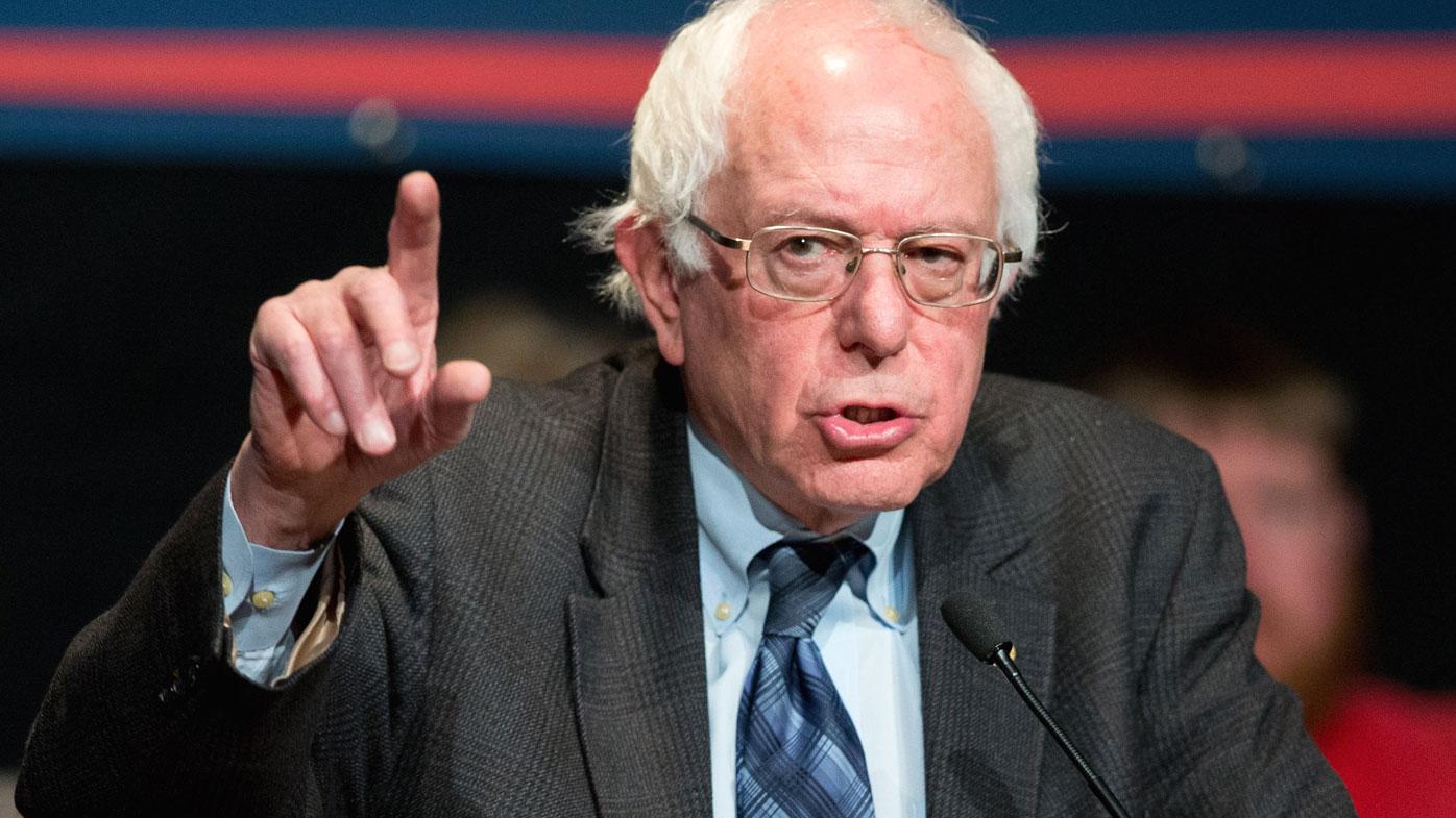 Bernie Sanders. (AAP)