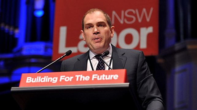 NSW Labor General Secretary Jamie Clements has resigned. (AAP)