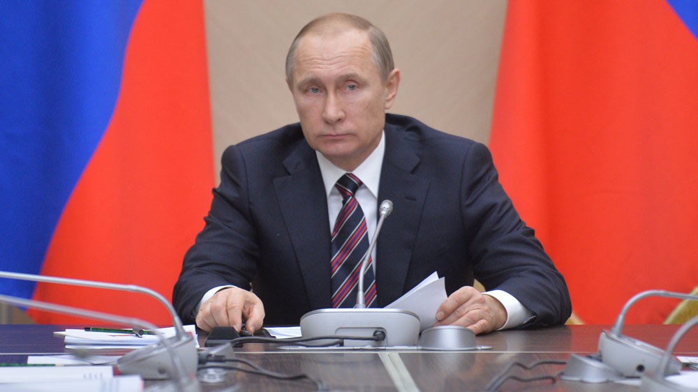 Vladimir Putin. (Getty-file)