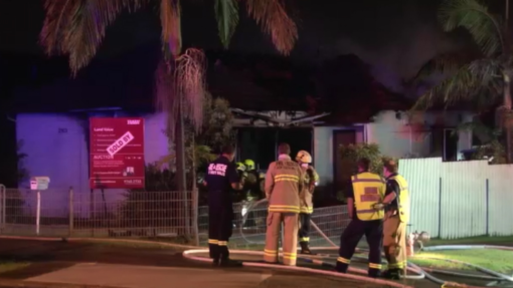 Sydney home gutted in early morning blaze