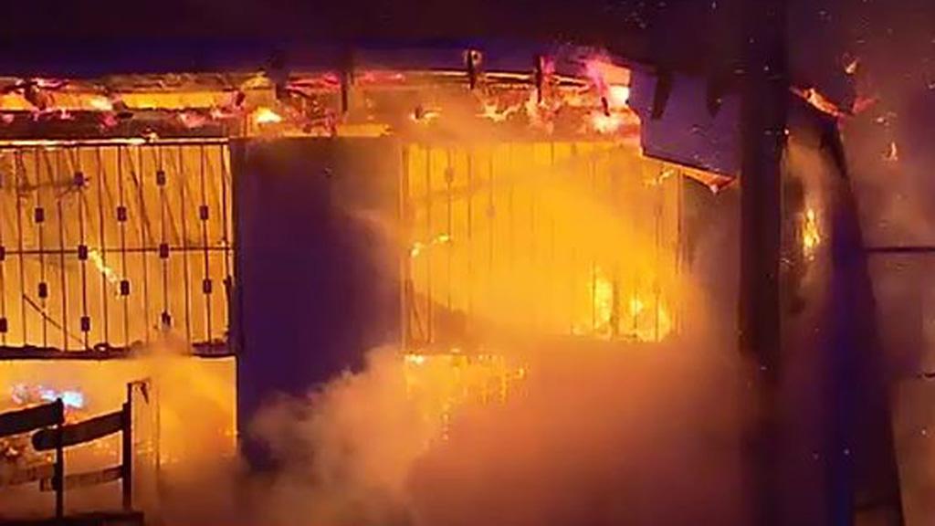 Blaze destroys toy warehouse near Newcastle