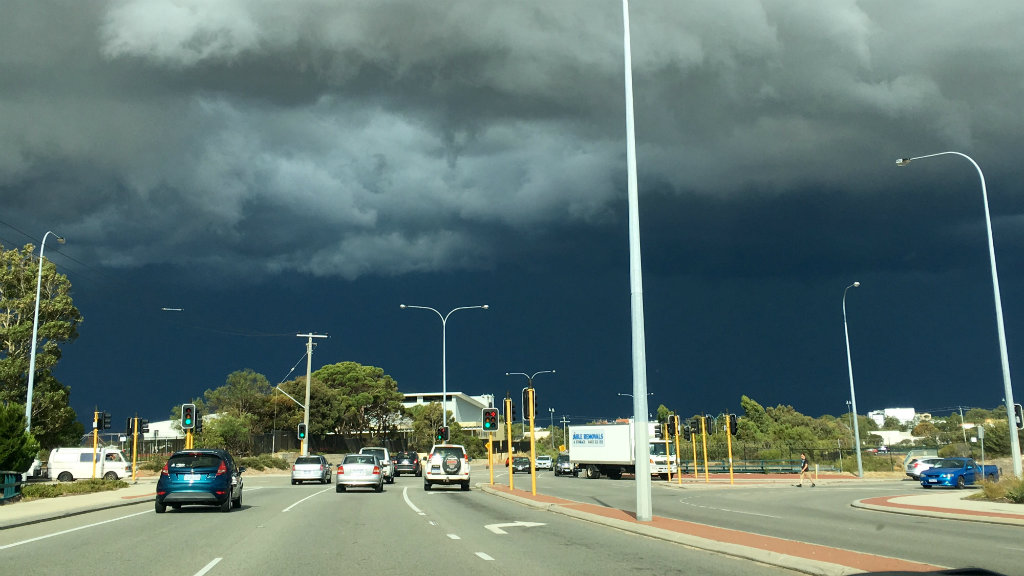 Warning for flash flooding in south-west Western Australia as wild weather continues