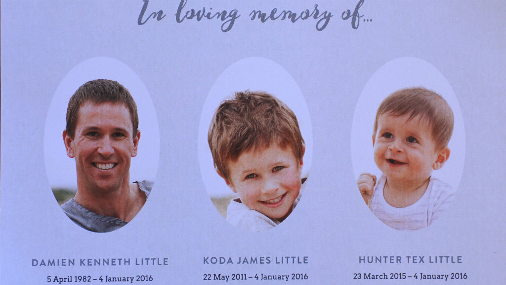 Father and sons in South Australian murder-suicide farewelled at private service