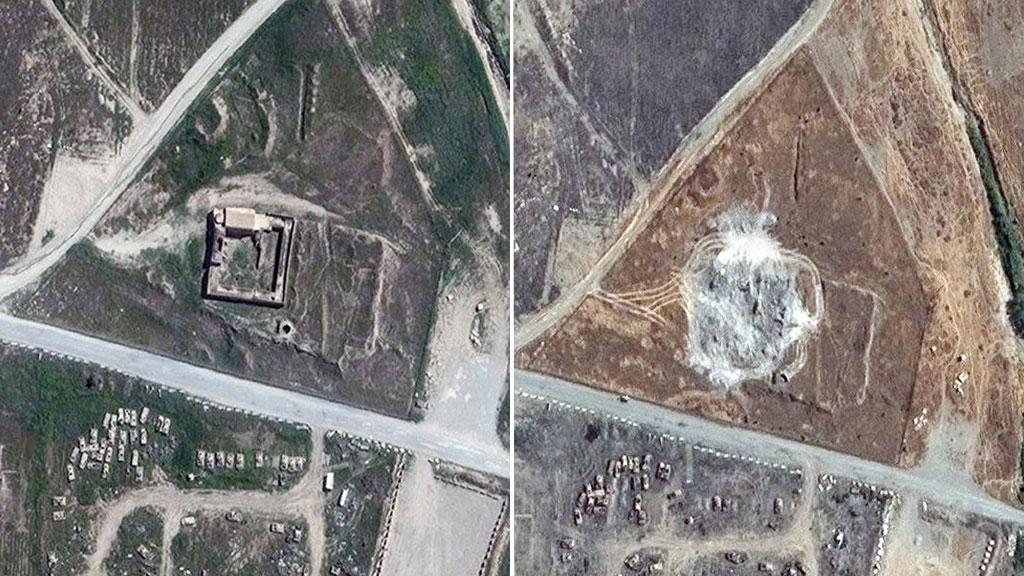 Islamic State raze 1,400-year-old Christian monastery in Iraq
