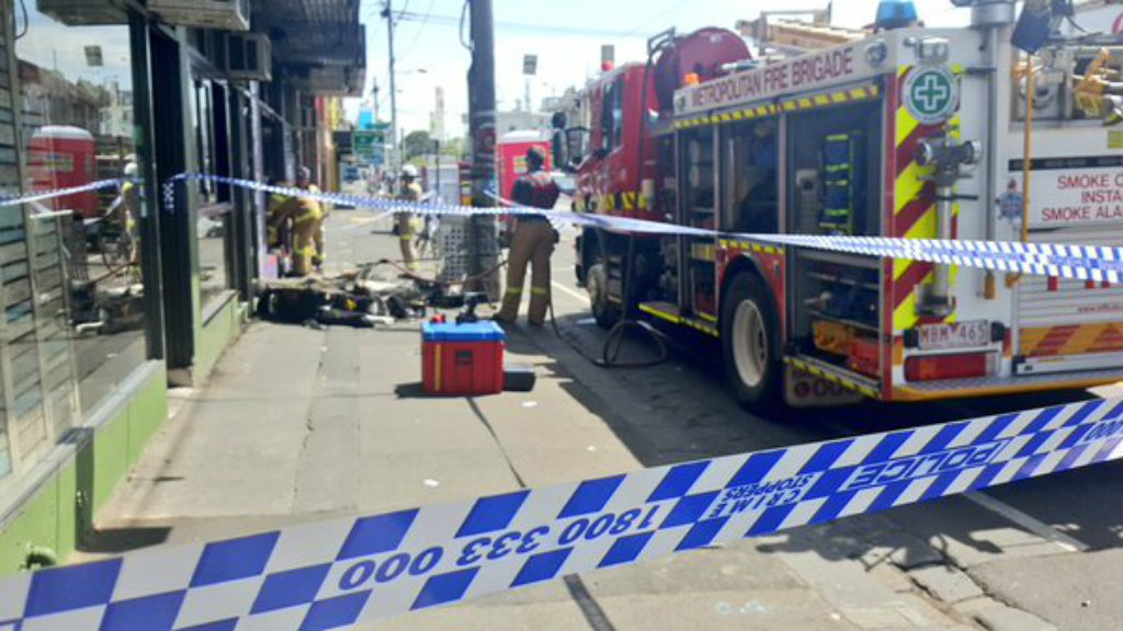 Melbourne man charged with murder over fatal fire at Fitzroy clothing shop