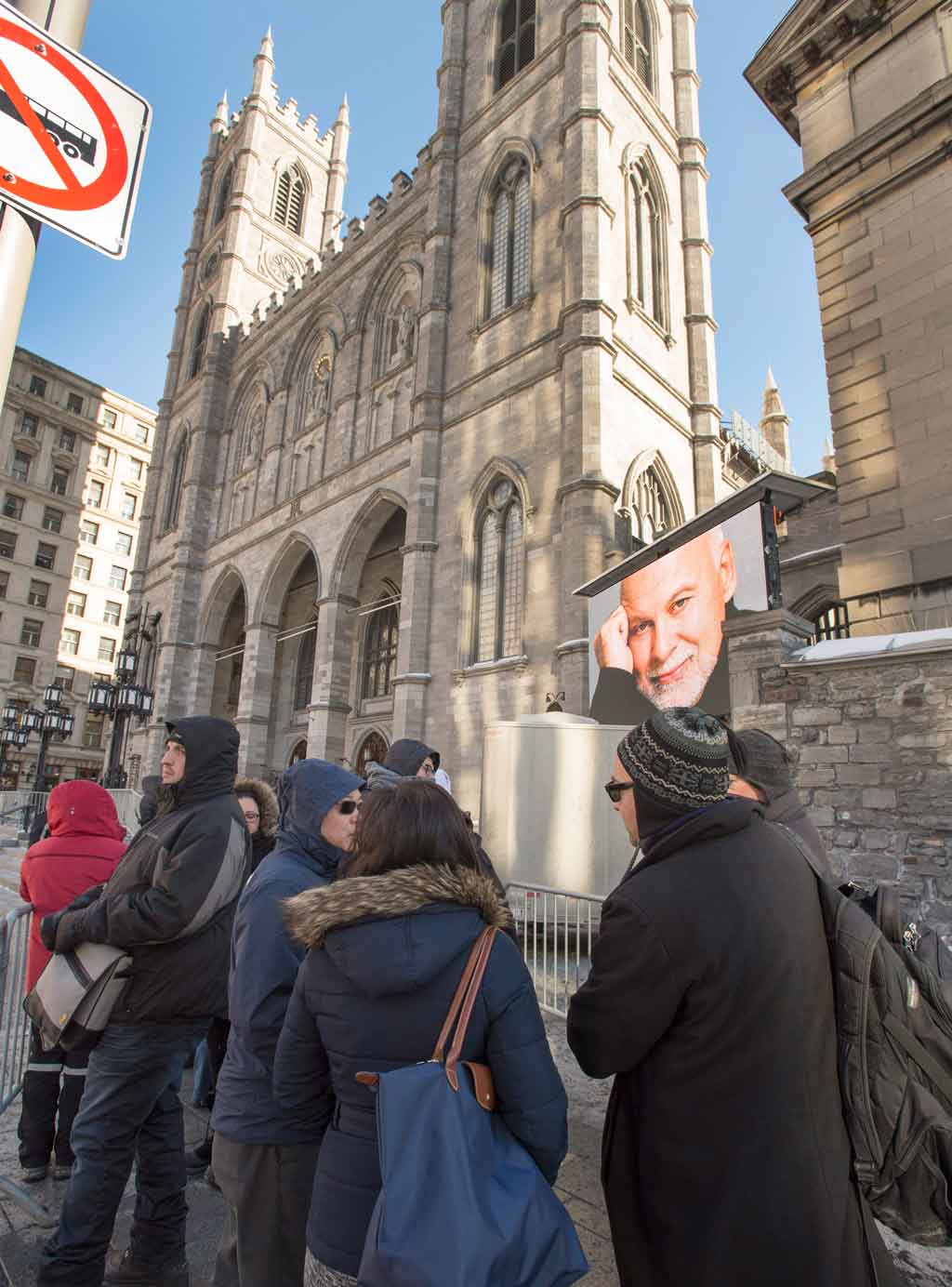 The funeral will be held at the Notre-Dame Basilica. (AAP)