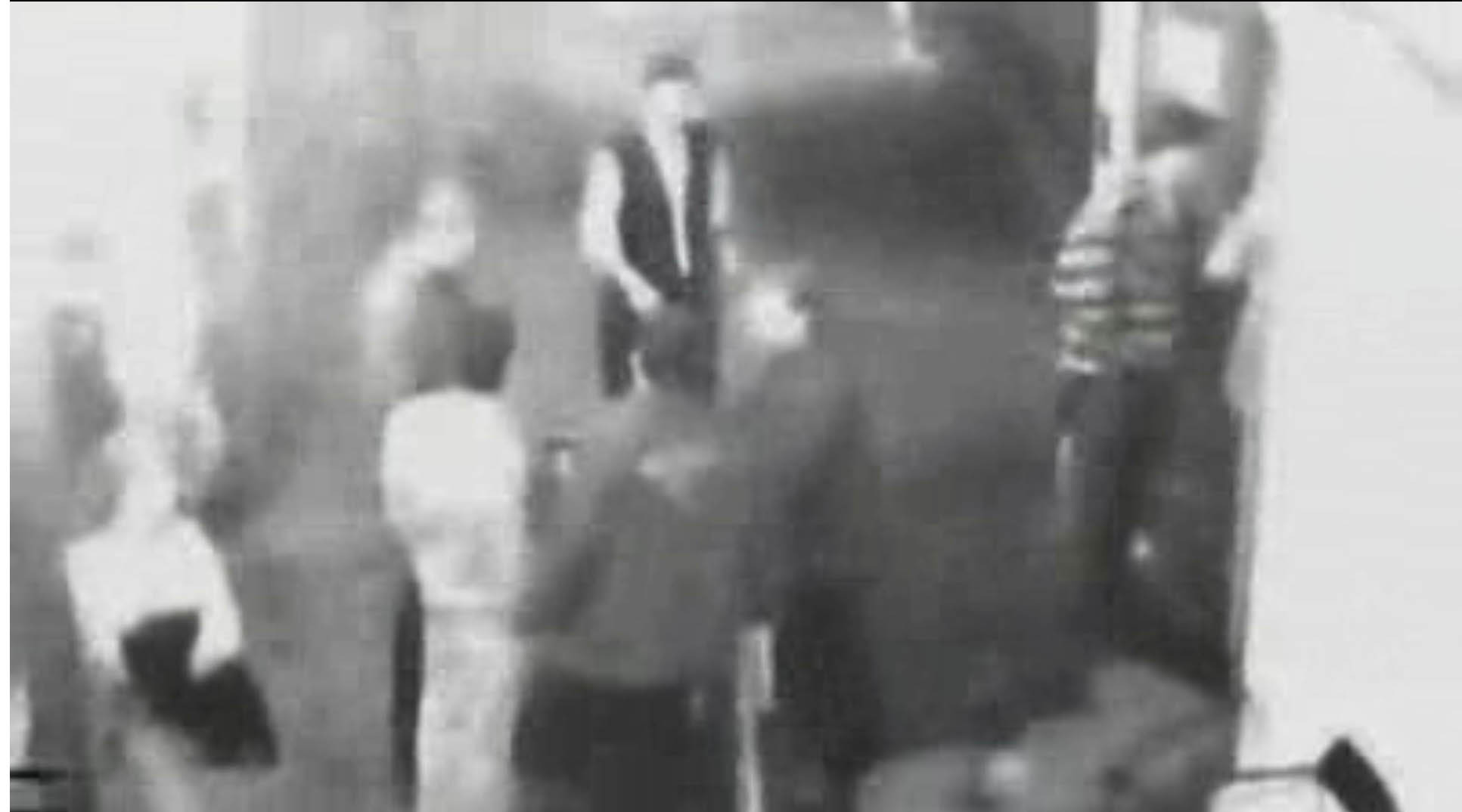 The CCTV shows Ms Rimmer's possible final movements before she was abducted. (WA Police)