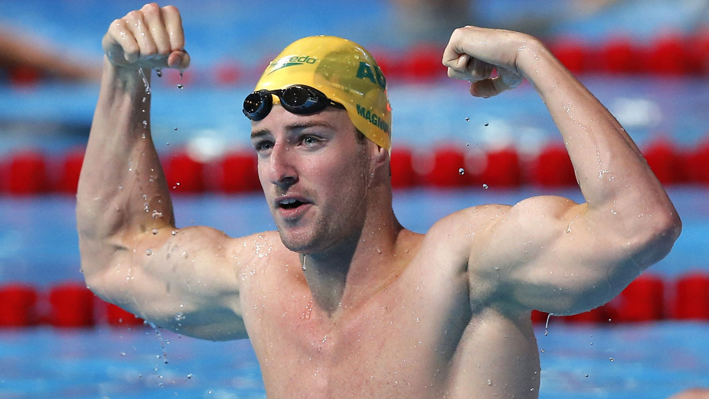 James Magnussen. (AAP-file)