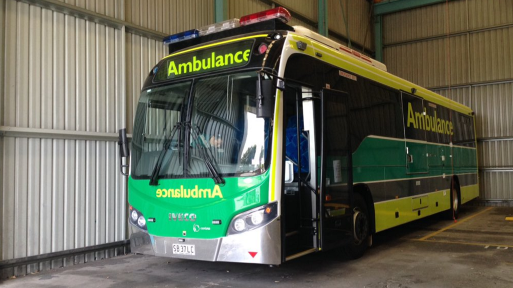 Australia's first ambulance bus to hit South Australian roads
