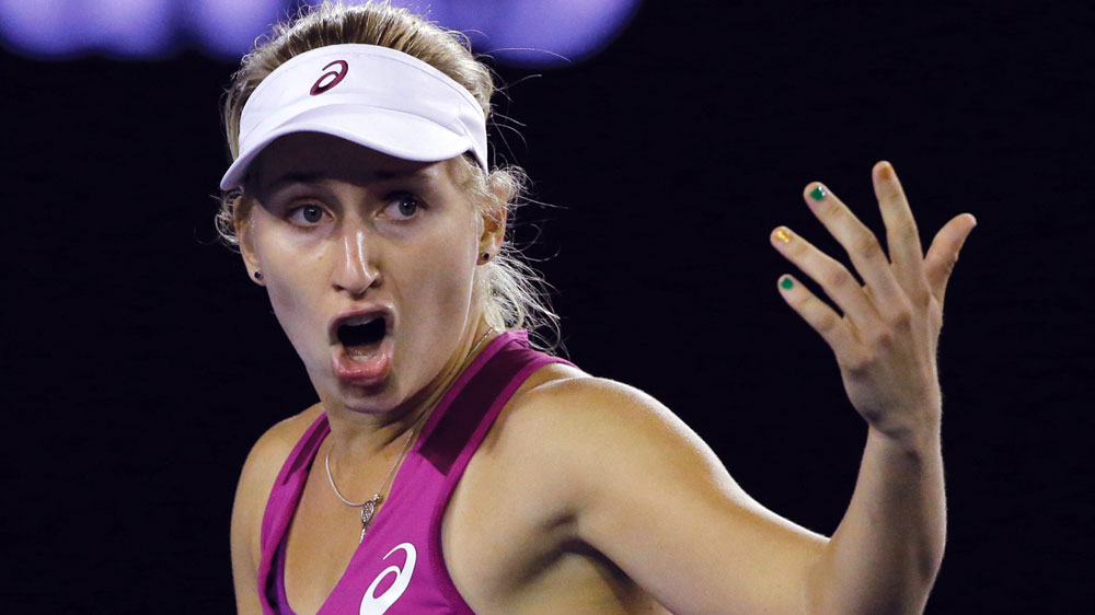 Gavrilova out of the Australian Open after loss to 10th seed