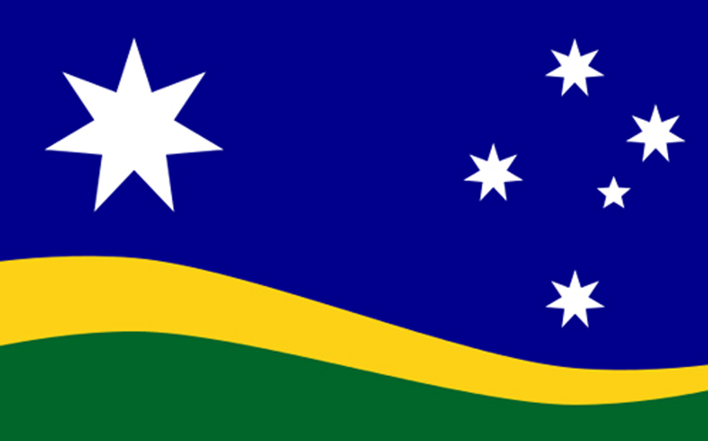 Could this become Australia's new flag?