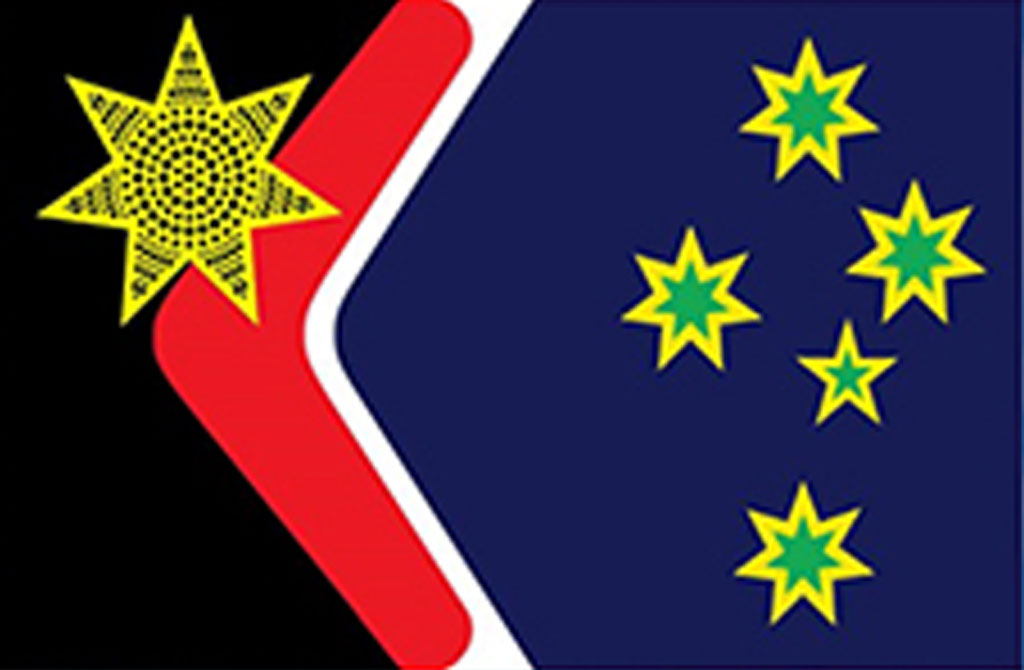 The Reconciliation Flag was the second most popular option. (Image: Western Sydney University)