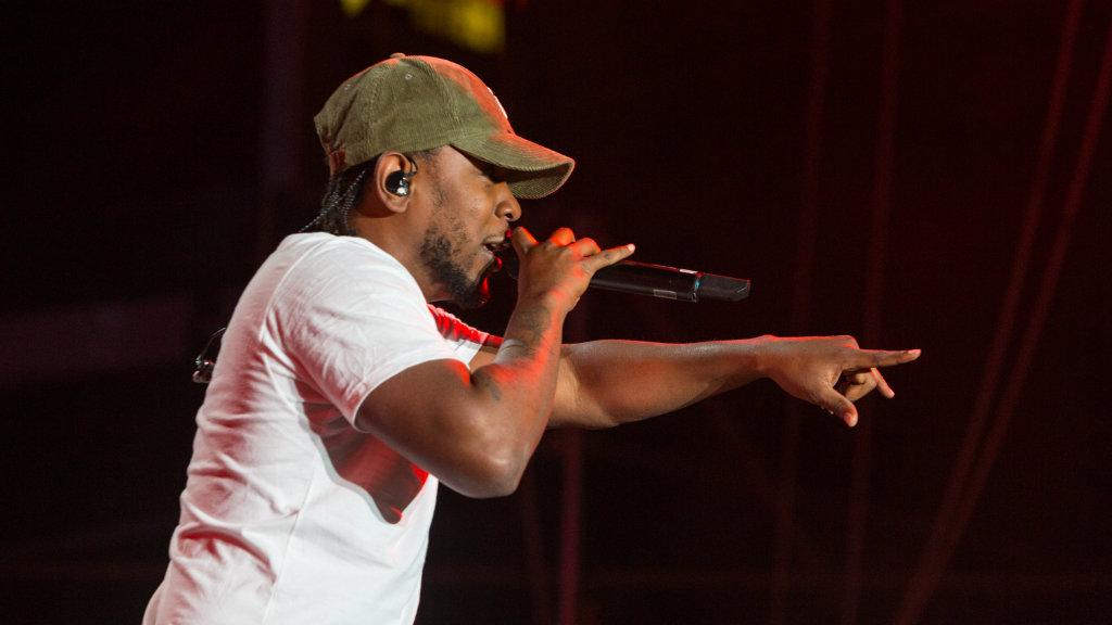 Compton rapper Kendrick Lamar. (AAP)