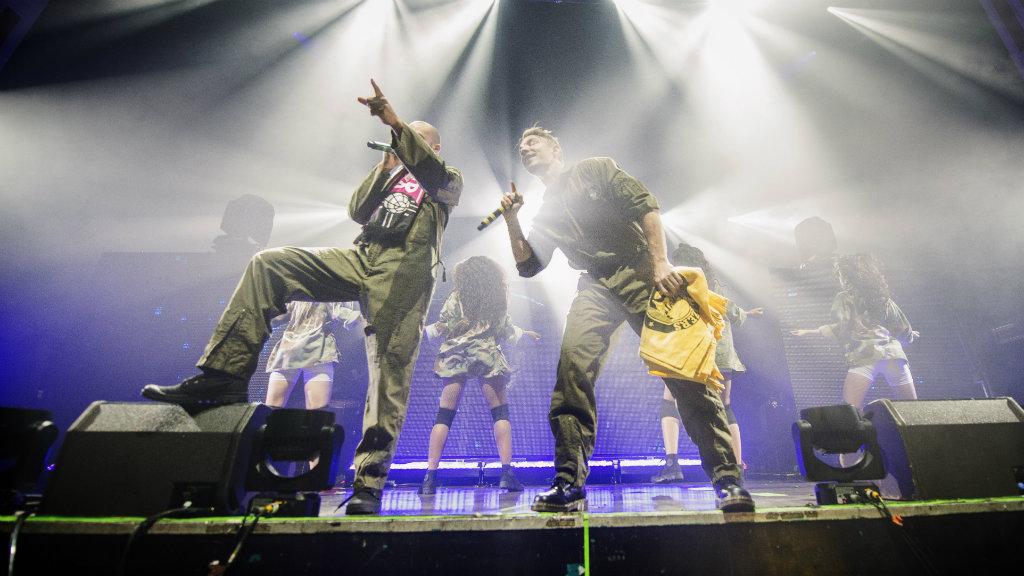 Major Lazer perform in Glasgow. (Getty)