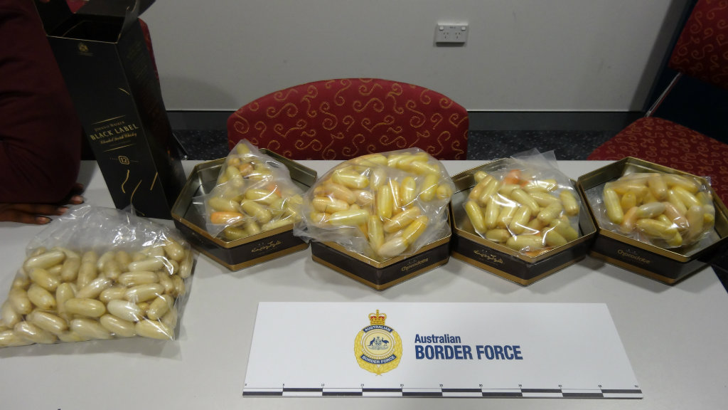 Man arrested at Sydney Airport with 4.7kg of cocaine: police