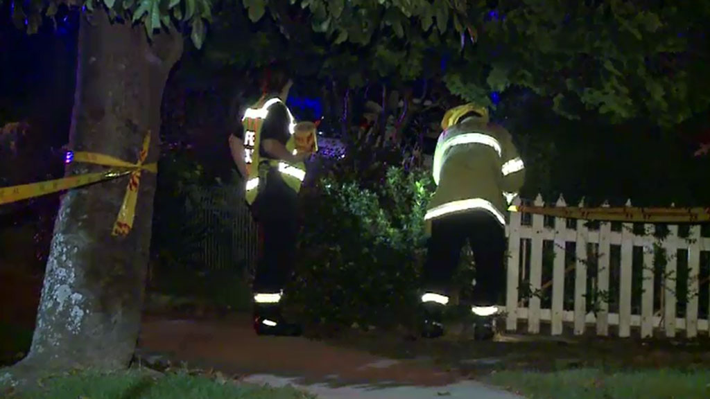 Emergency services were called to the western Sydney property just after 1am. (9NEWS)