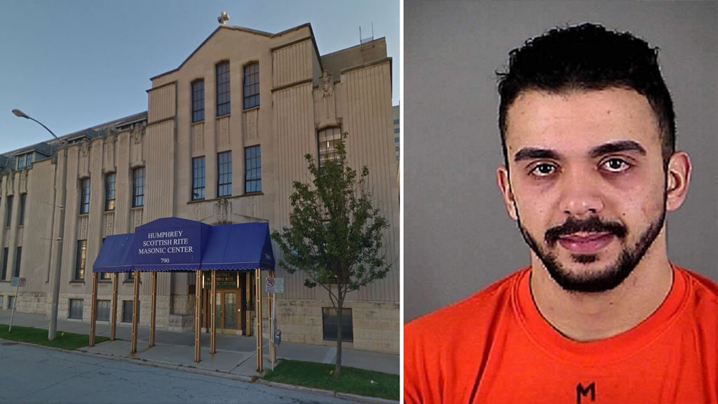 US man charged in plot to attack Masonic temple