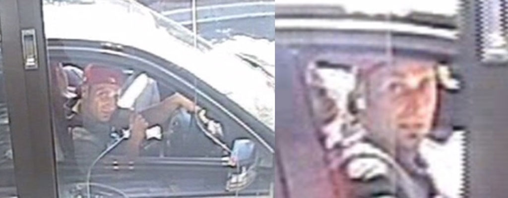 The man depicted in the images contacted police today. (Supplied: Victoria Police)
