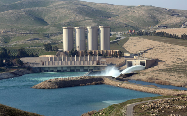 US monitoring Iraq's Mosul dam for signs of collapse