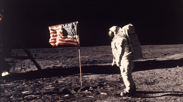 Moon landing conspiracy theory shot down in new study