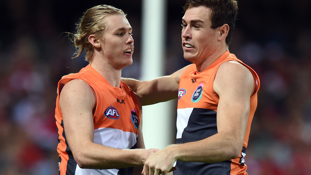 GWS Giants grant indefinite leave to Cameron McCarthy to deal with 'personal issues'