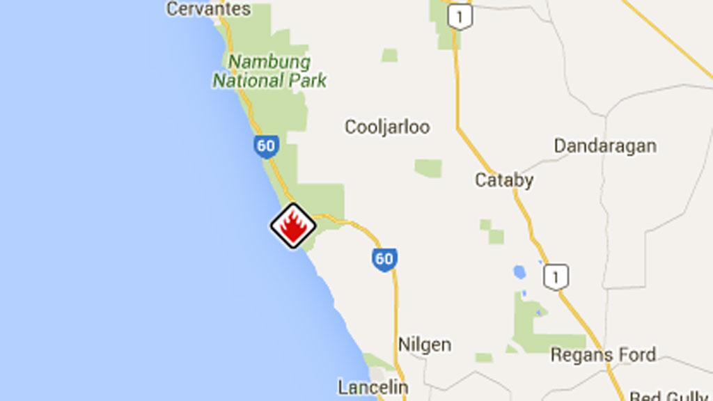 Bushfire emergency north of Perth