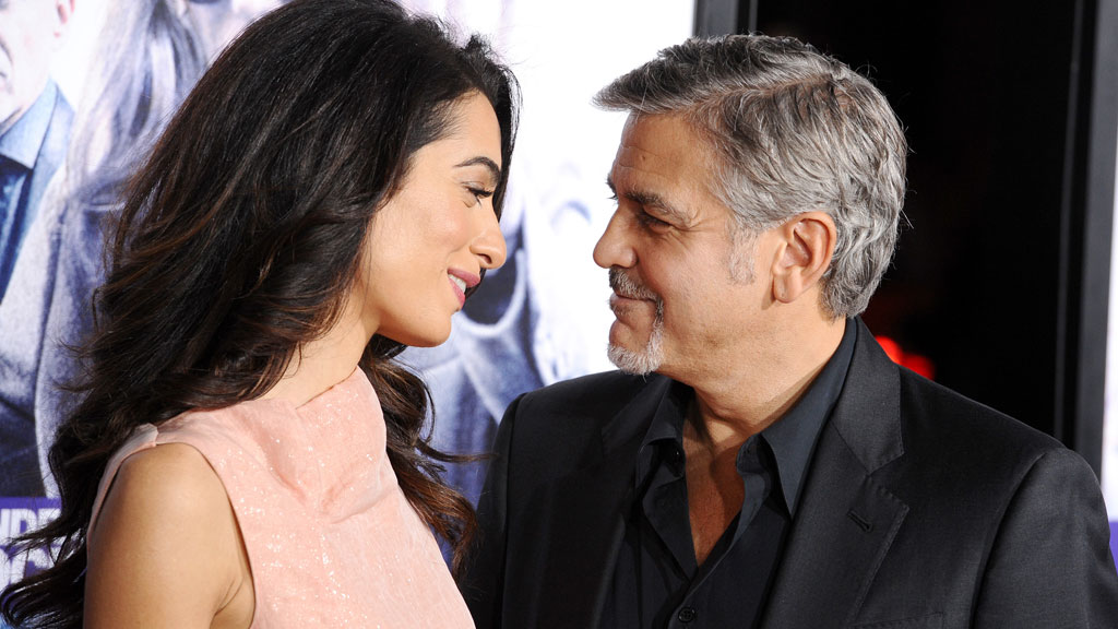 George Clooney adopts shelter dog with birth defects as Christmas gift for parents