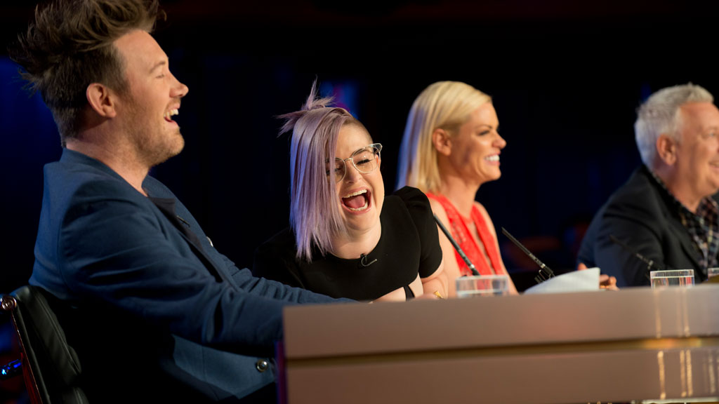 Kelly Osbourne says even the worst Australia's Got Talent auditions are 'uniquely awesome'