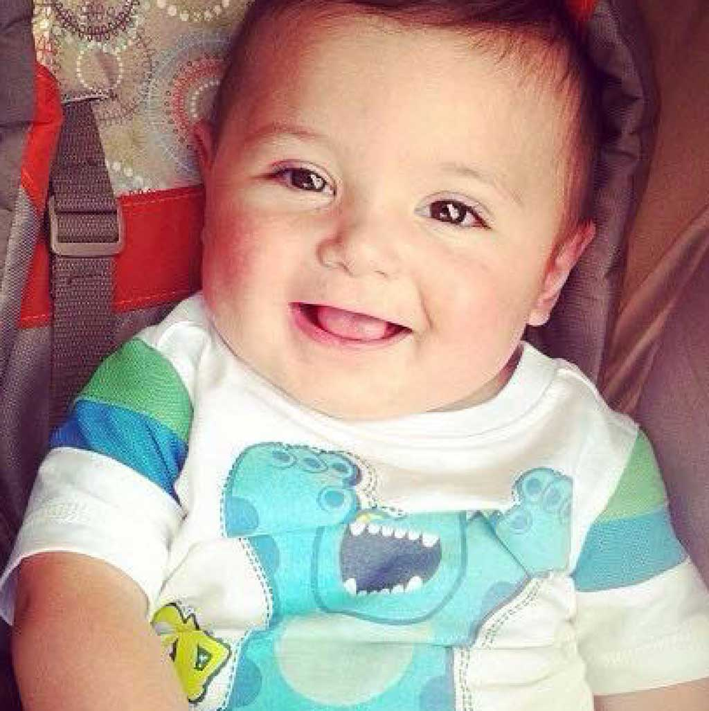 Lukas died when he was just seven months old. (Image: Donate Life Arizona/Facebook)