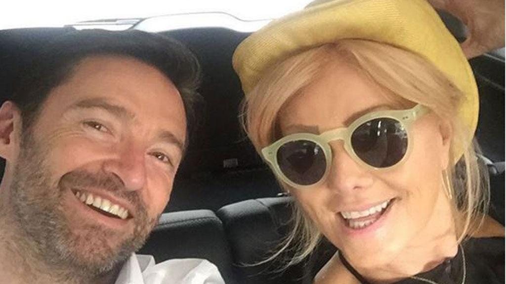 Wolverine star with his wife Deborra- Lee Furness (Hugh Jackman/ Instagram)