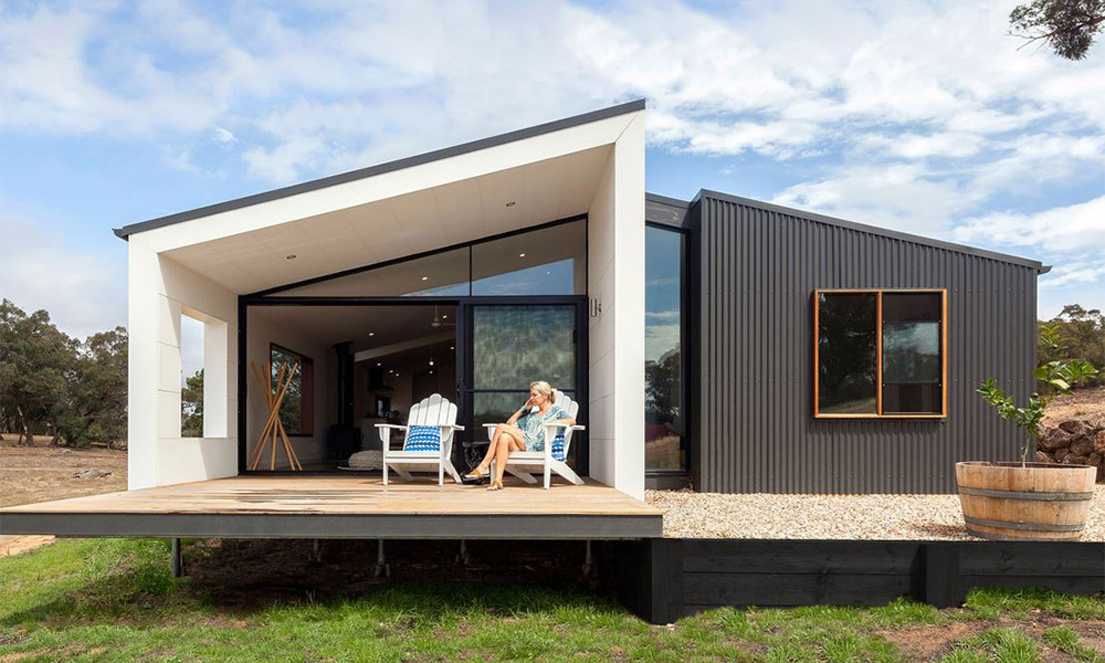 Australia 39 s best prefab homes 9homes for Prefab granny unit california