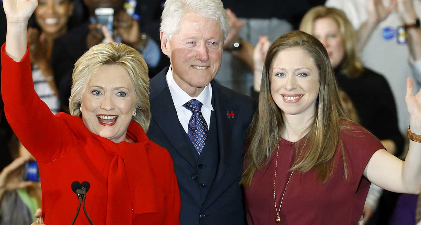 Clinton the Third? Chelsea courts limelight