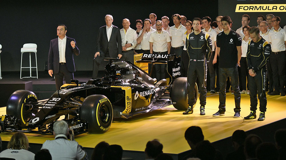 Renault unveil their drivers for 2016. (AFP)