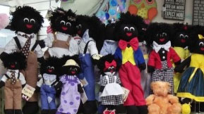 Golliwogs pulled from the shelves of Canberra Hospital