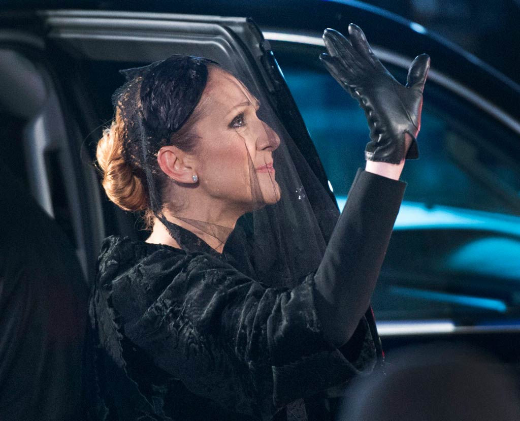Celine Dion farewelled her late husband on January 26. (AAP)