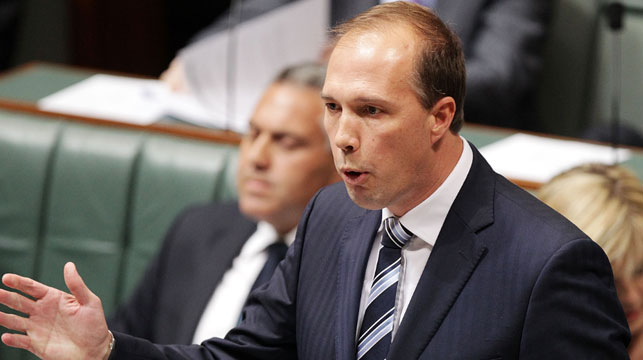 Dutton announces government will close 17 detention centres