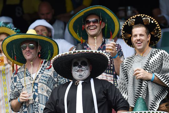 In pictures: Rugby fans dress up for sell out Sydney Sevens