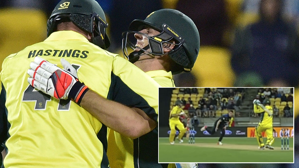 Marsh delivers series-levelling ODI win