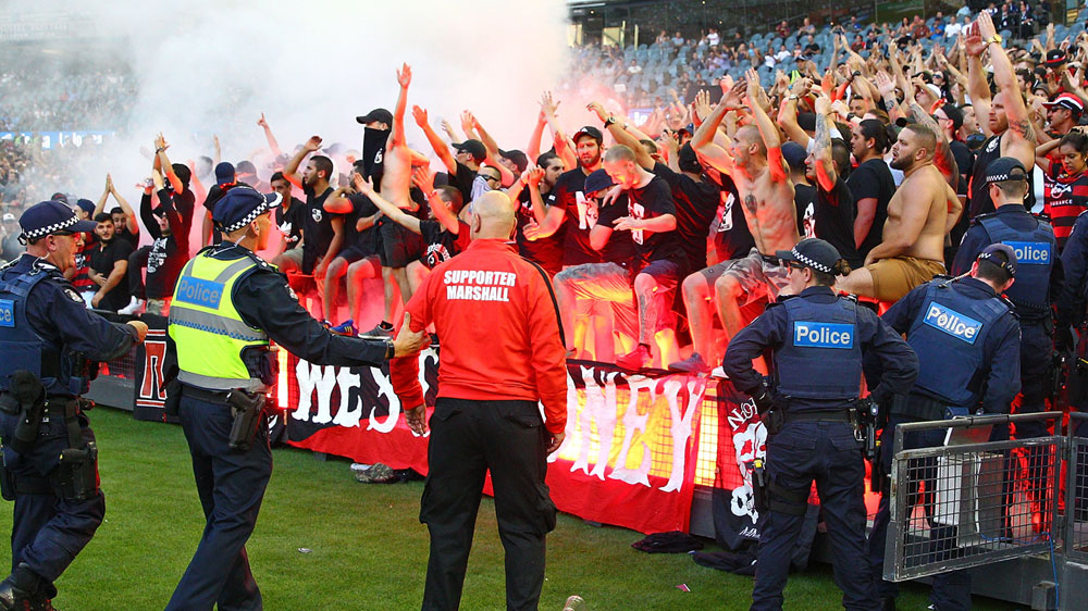 FFA's show-cause to Wanderers over flares