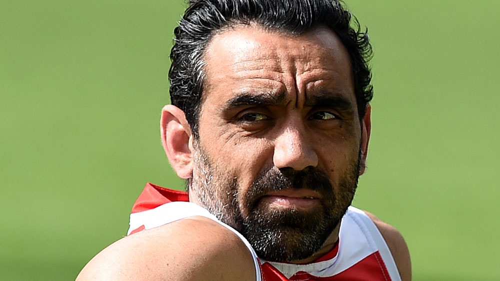 Adam Goodes. (AAP)