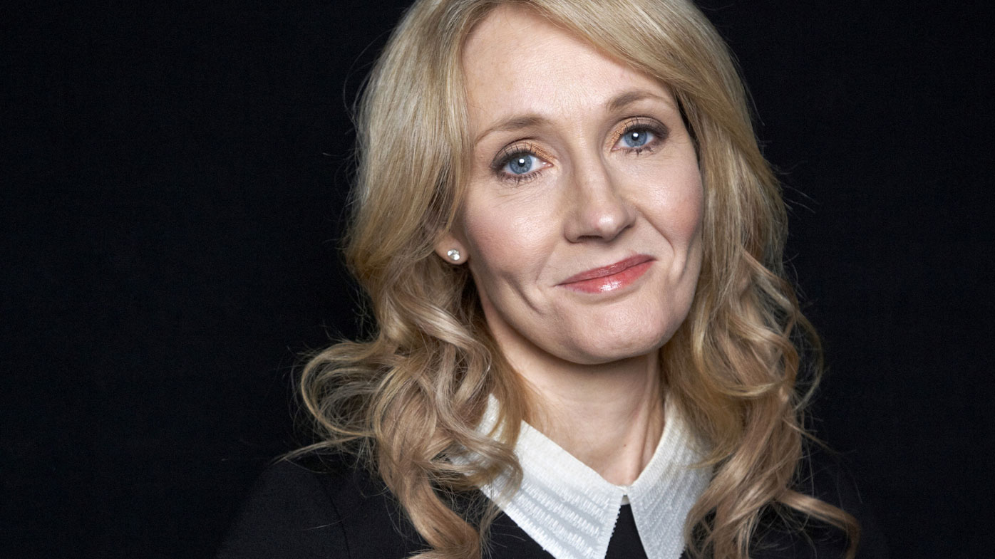 Harry Potter author JK Rowling. (AAP)