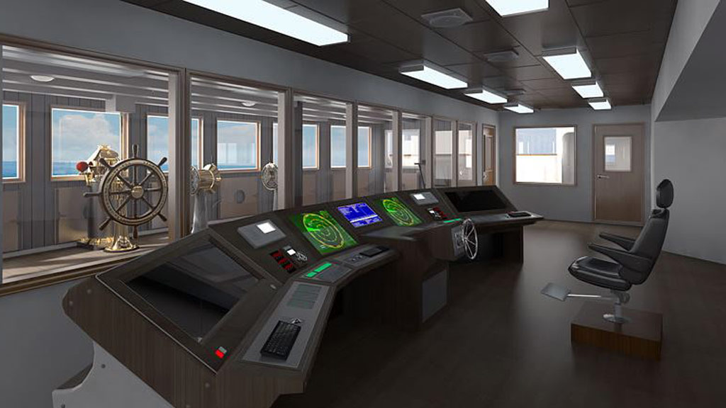 The new ship has been designed according to modern regulations. (Blue Star Line)