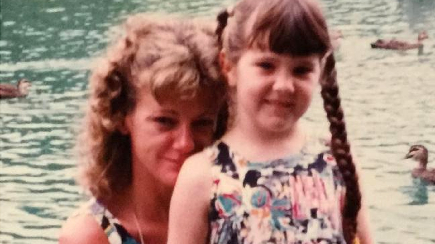 Karen Nettleton pictured with Tara as a young girl.
