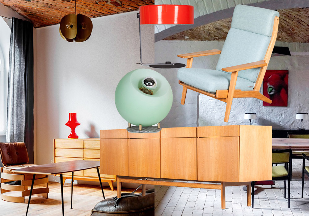 Mid century modern for Mid century furniture online