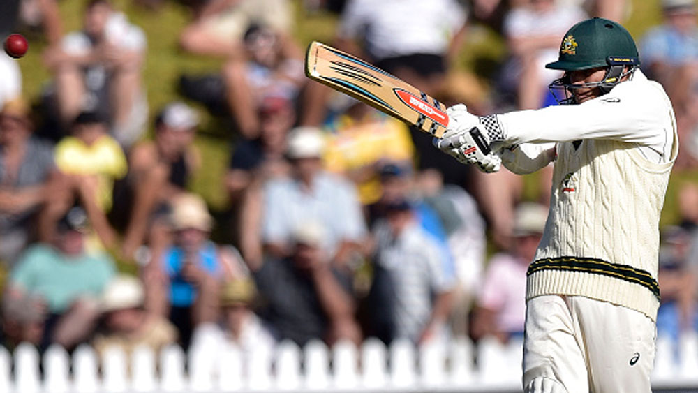 Aussies fight back with bat in Wellington