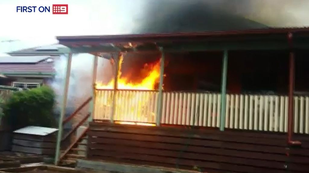 Last month, a hoverboard caused a Melbourne house fire. (9NEWS)