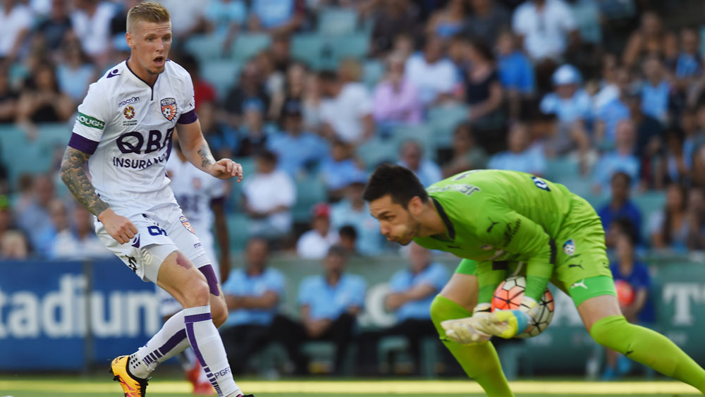 Perth send Sydney to sobering 2-1 defeat